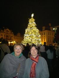 Begeisterung in den Augen unserer Menschin, Prag im Advent 2013