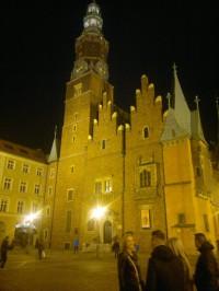 Altstadt von Wroclaw am Abend