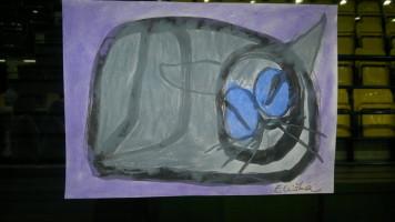 """Blauäugige Katze"""