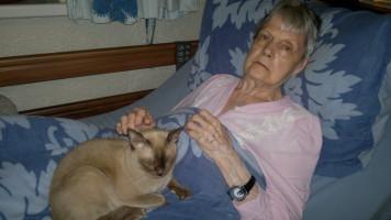 Anne-Grethe belagert die alte Dame